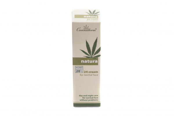 Cannaderm – Natura 24h Creme Til Normal Hud