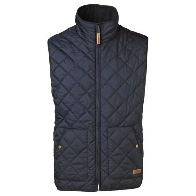 KnowledgeCotton Apparel - Reversible Vest (Total Eclipse)