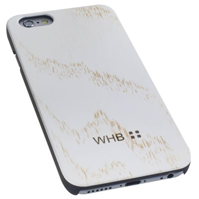 Wood World iPhone Cover 'White Snow'